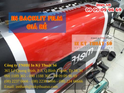 In backlit giá rẻ tại TPHCM cùng Công ty TNHH In Kỹ Thuật Số - Digital Printing