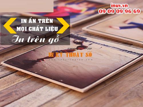 In ảnh nghệ thuật trên gỗ với Công ty In Kỹ Thuật Số - Digital Printing